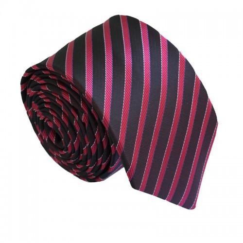 Vínová kravata ANGELO di MONTI ADM-193
