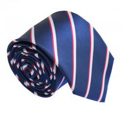 Modrá kravata ANGELO di MONTI ADM-202