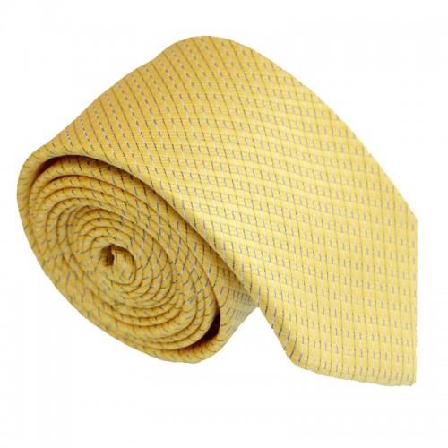 Žlutá kravata ANGELO di MONTI ADM-207