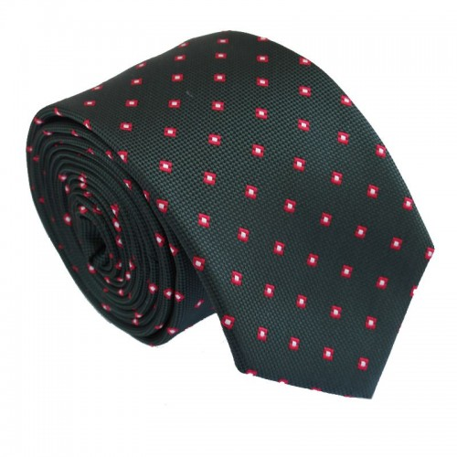 Tmavě zelená kravata ANGELO di MONTI ADM-212