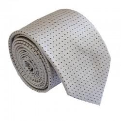 Tmavě krémová kravata ANGELO di MONTI ADM-214