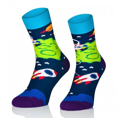 Pánské ponožky MARROM - vesmír 41/43