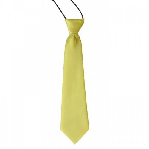 Dětská kravata (zelenkavě žlutá)