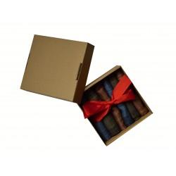 Pánský kapesník v dárkové krabičce - 6ks
