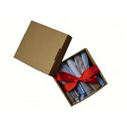 Pánský kapesník v dárkové krabičce - 6 ks